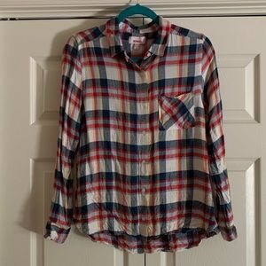 Bongo Button-Down Plaid Shirt